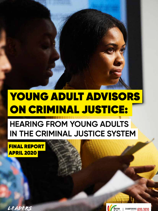 YOUNG ADULT ADVISORS ON CRIMINAL JUSTICE