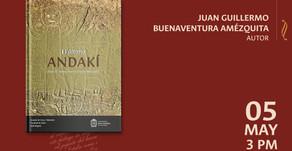 Lanzamiento del libro «El último andakí»