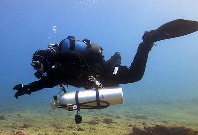 Bucear Técnico con el Centro de Buceo Nautico en Gran Canaria