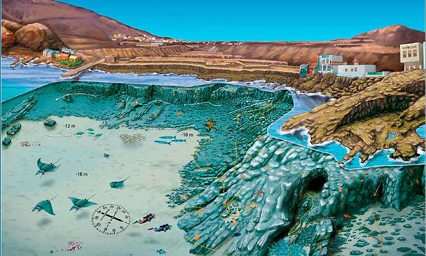 Caleta Baja: Tauchen auf Gran Canaria mit der ältesten Tauchschule - der Nautico Dive Academy!
