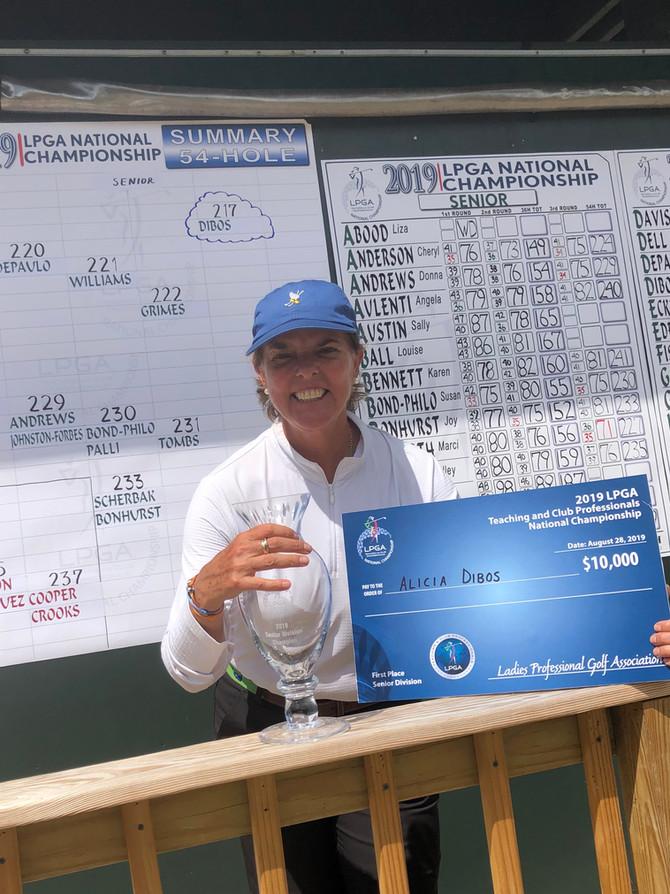 Alicia Dibos wins 2019 LPGA Teaching and Club Professionals National Championship