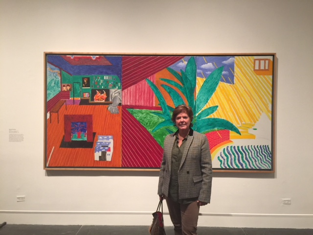 David Hockney Exhibit