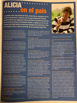 Peru Golf Magazine