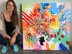 Caro Paz, Peruvian Artist