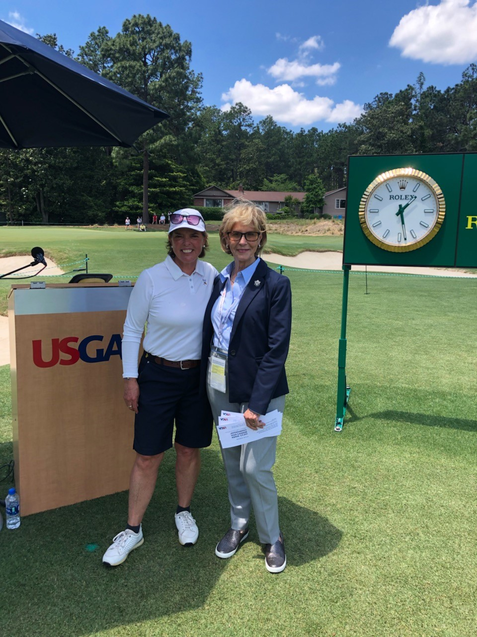 Hole #1 - Judy Rankin, Announcer