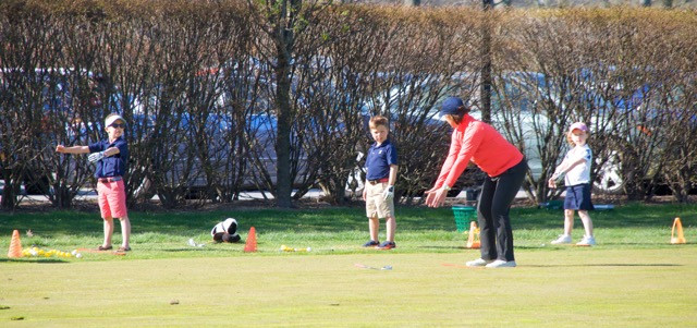 Junior Kick Off Clinic at Winged Foot