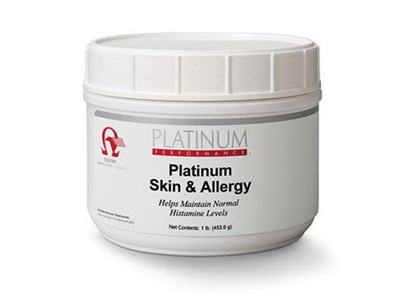 Platinum Skin and Allergy for Horses 0.5lb tub