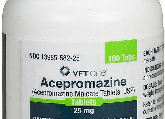 Acepromazine 25mg Tablets 100ct