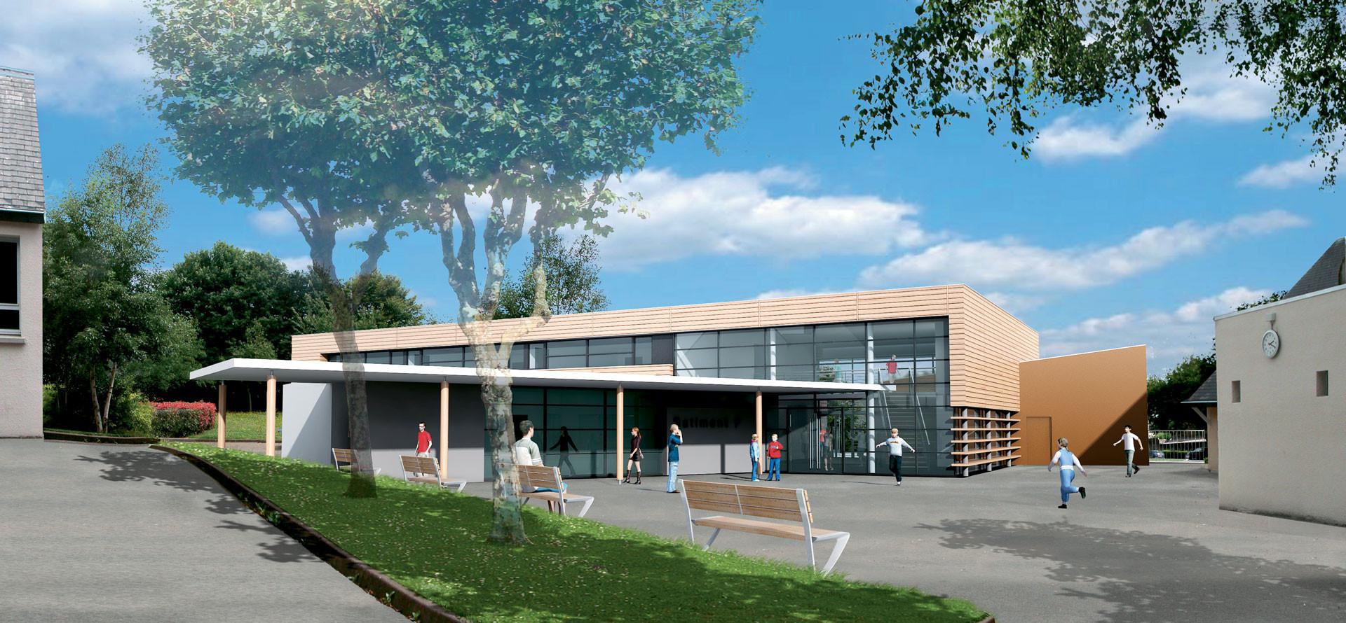 Collège - Briec de l'Odet