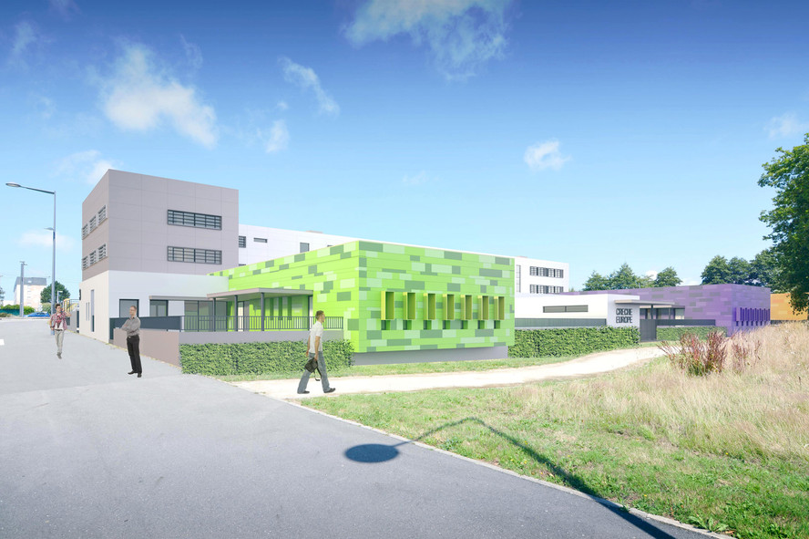 Crèche municipale - Brest
