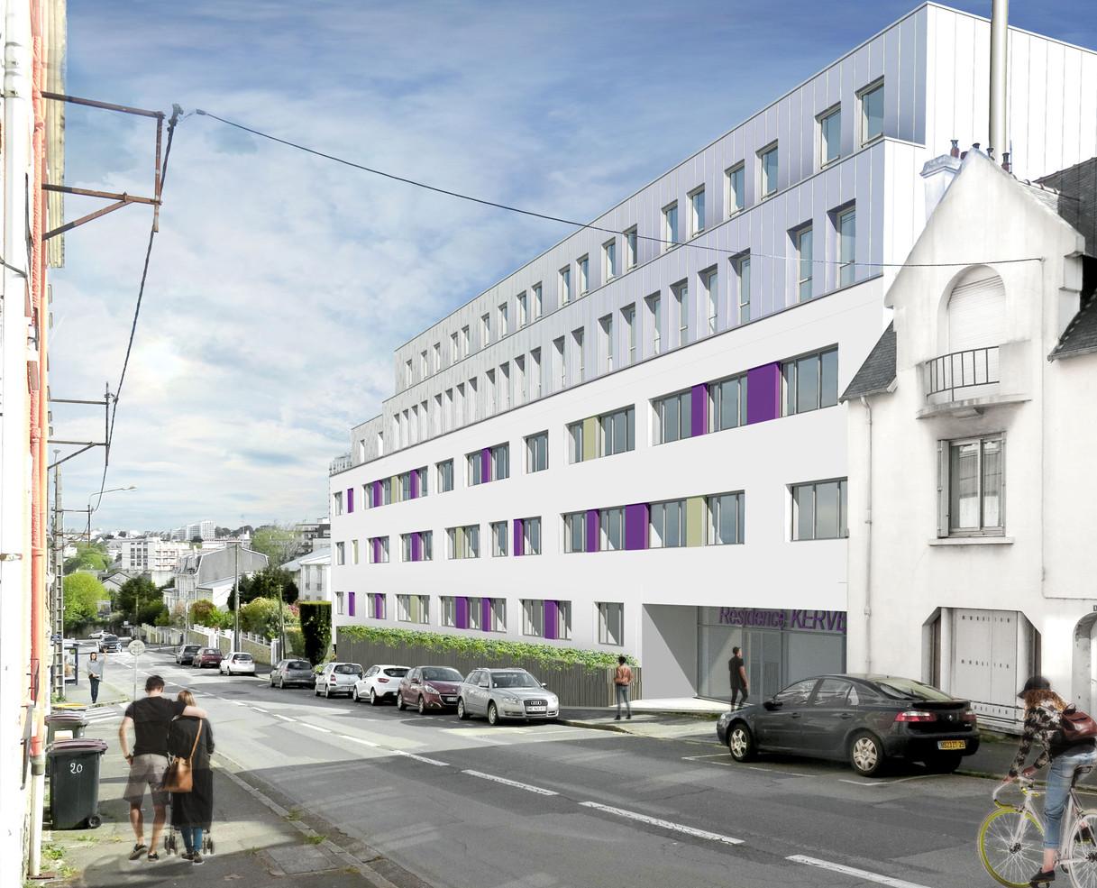 Résidence étudiante Kervern - Brest