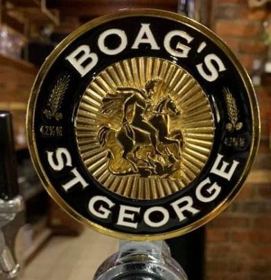 Boag's St George beer tap