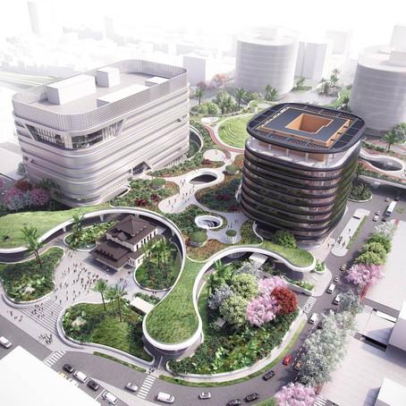 Тайванский метрополитен будут опоясывать реки зеленых крыш