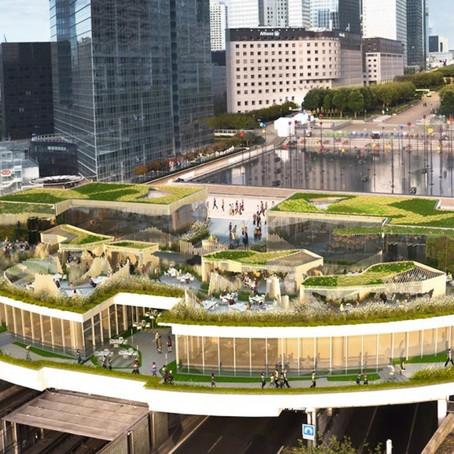 Зеленый оазис над Сеной станет новой достопримечательностью Парижа