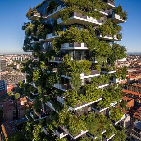 Знаменитые миланские башни «Вертикальный сад» 3 года спустя