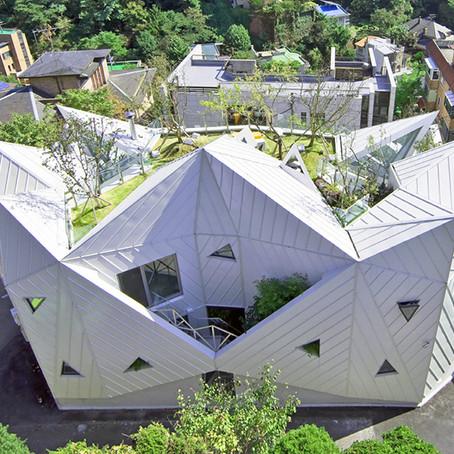 Дом в Корее расцветает, как цветок