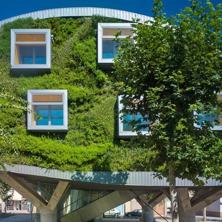"""Дом """"с зеленым лицом"""" поддержал идею о нулевом потреблении энергии"""