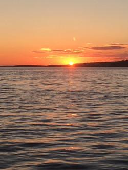 Sunset on Eggemoggin Reach