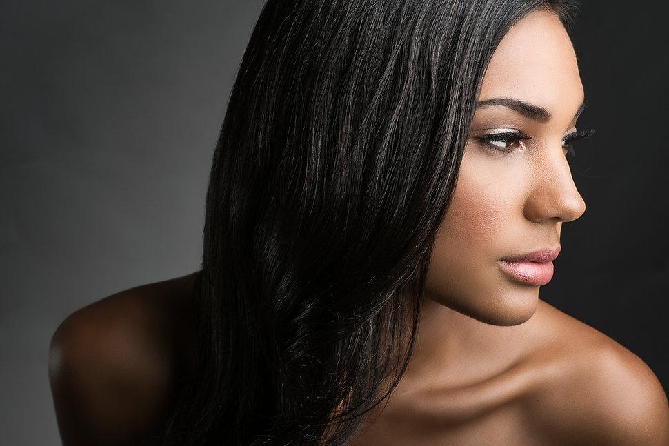 Dark Hair Beauty