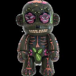 mexican camo green face