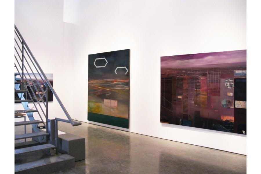 "JOSEPH SIDDIQI ""Night Paintings"" 2009 Newzones Gallery Calgary AB"