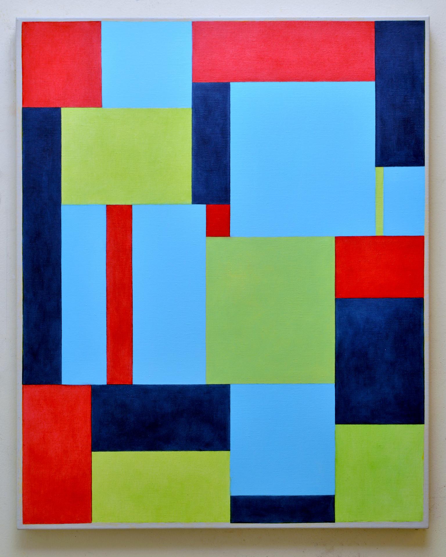 """JOSEPH SIDDIQI """"E=mc2""""  oil on linen 40 x 32 in. / 102 x 81 cm"""