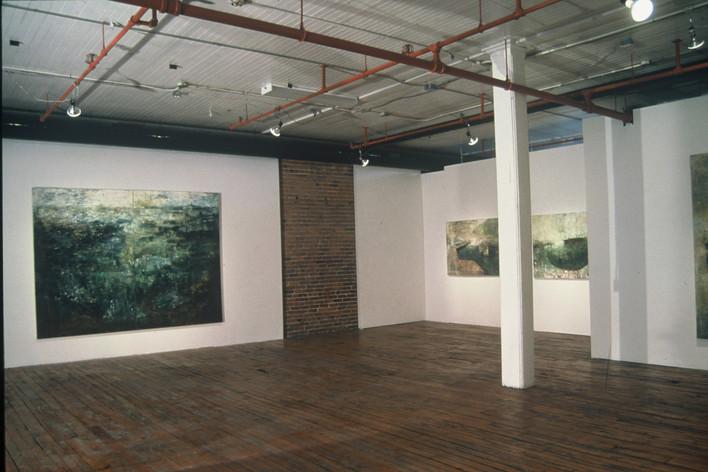"""JOSEPH SIDDIQI """"Peinture"""" 2000 Galerie Luz Montreal QC"""