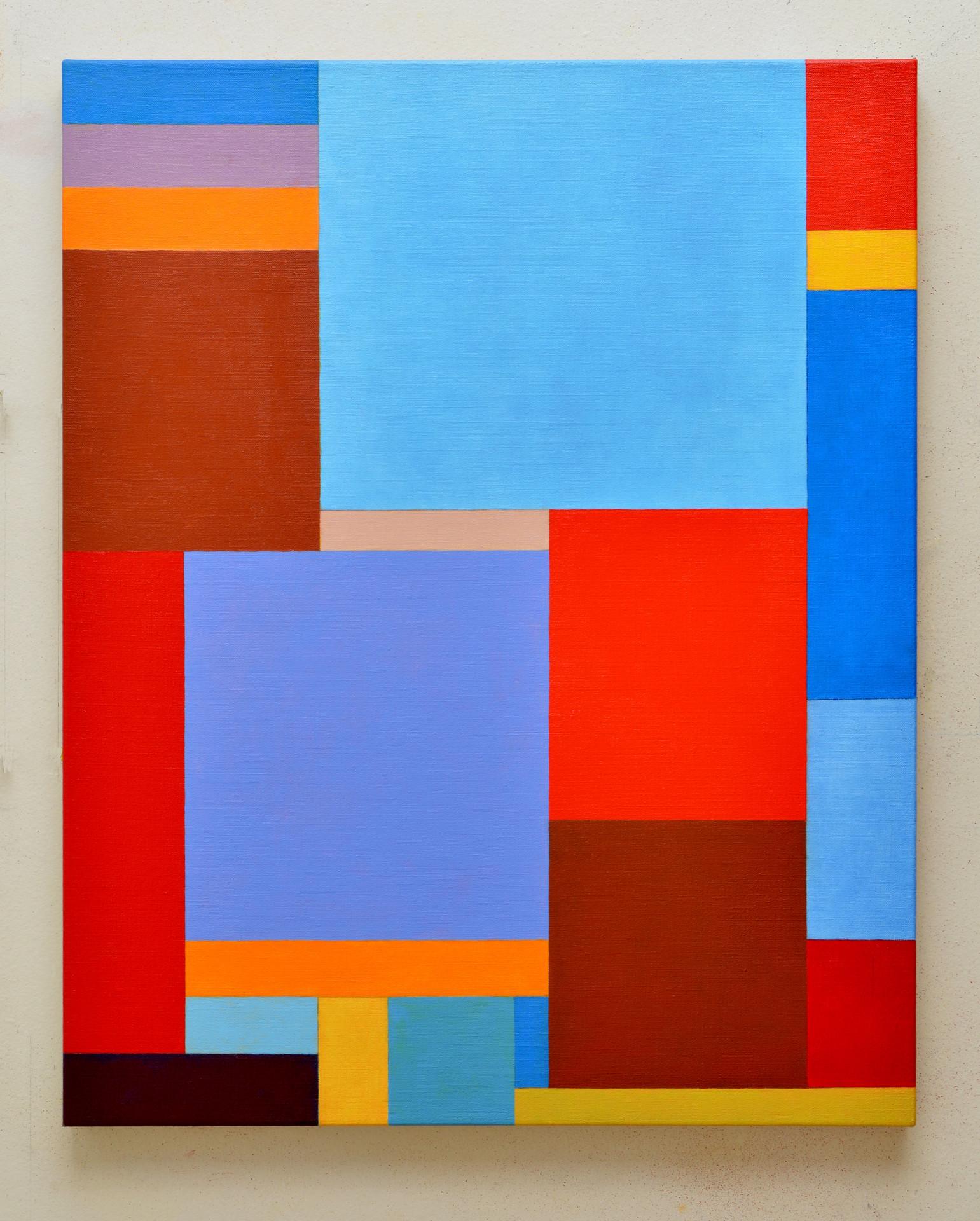 "JOSEPH SIDDIQI ""Vedanā I""  oil on linen 30 x 24 in. / 76 x 61 cm"