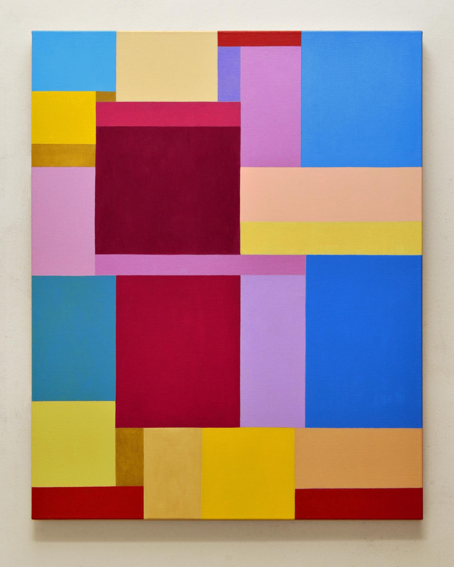 """JOSEPH SIDDIQI """"Rūpa""""  oil on linen 40 x 32 in. / 102 x 81 cm"""