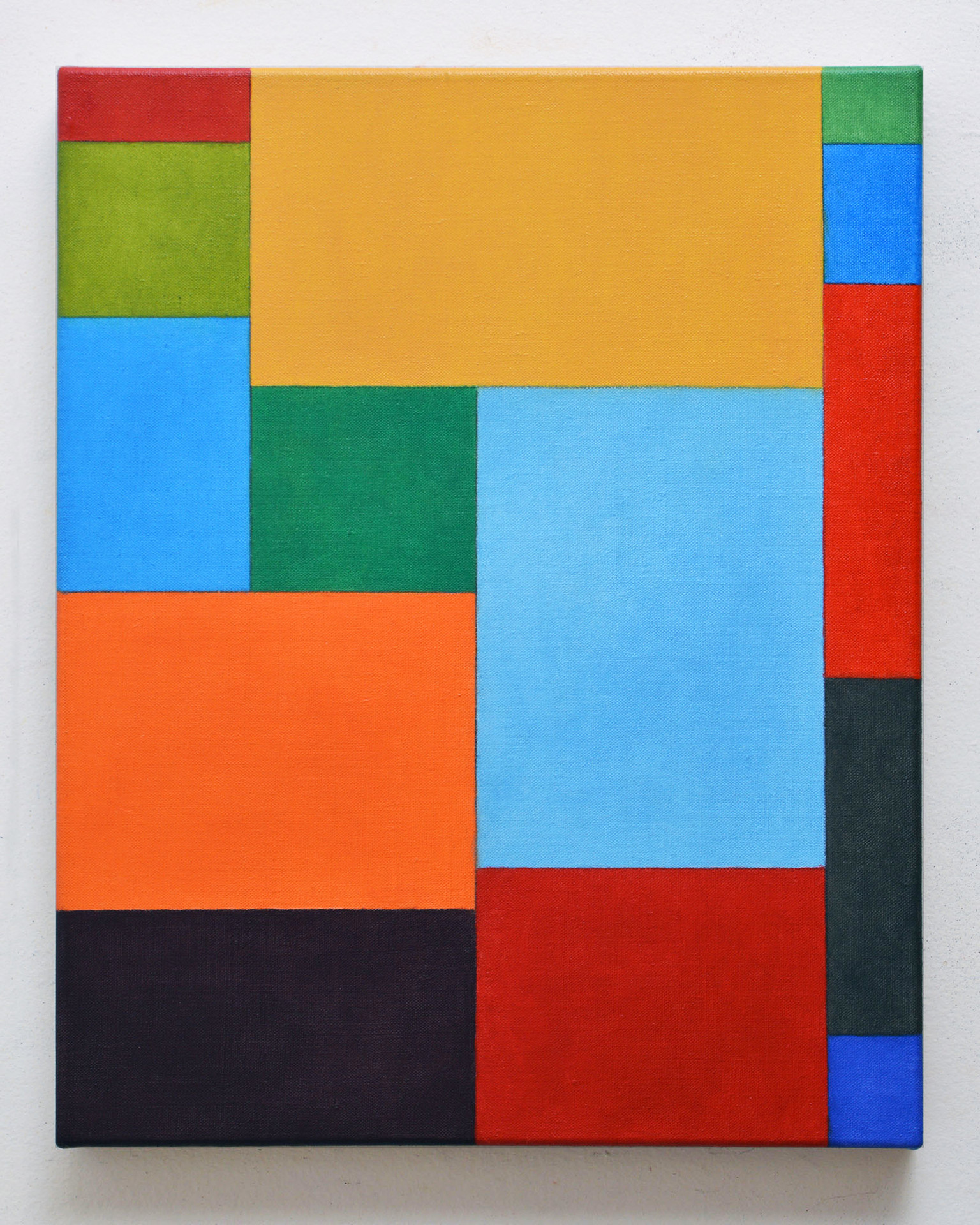 "JOSEPH SIDDIQI ""Vedanā Study""  oil on linen 20 x 16 in. / 51 x 41 cm"
