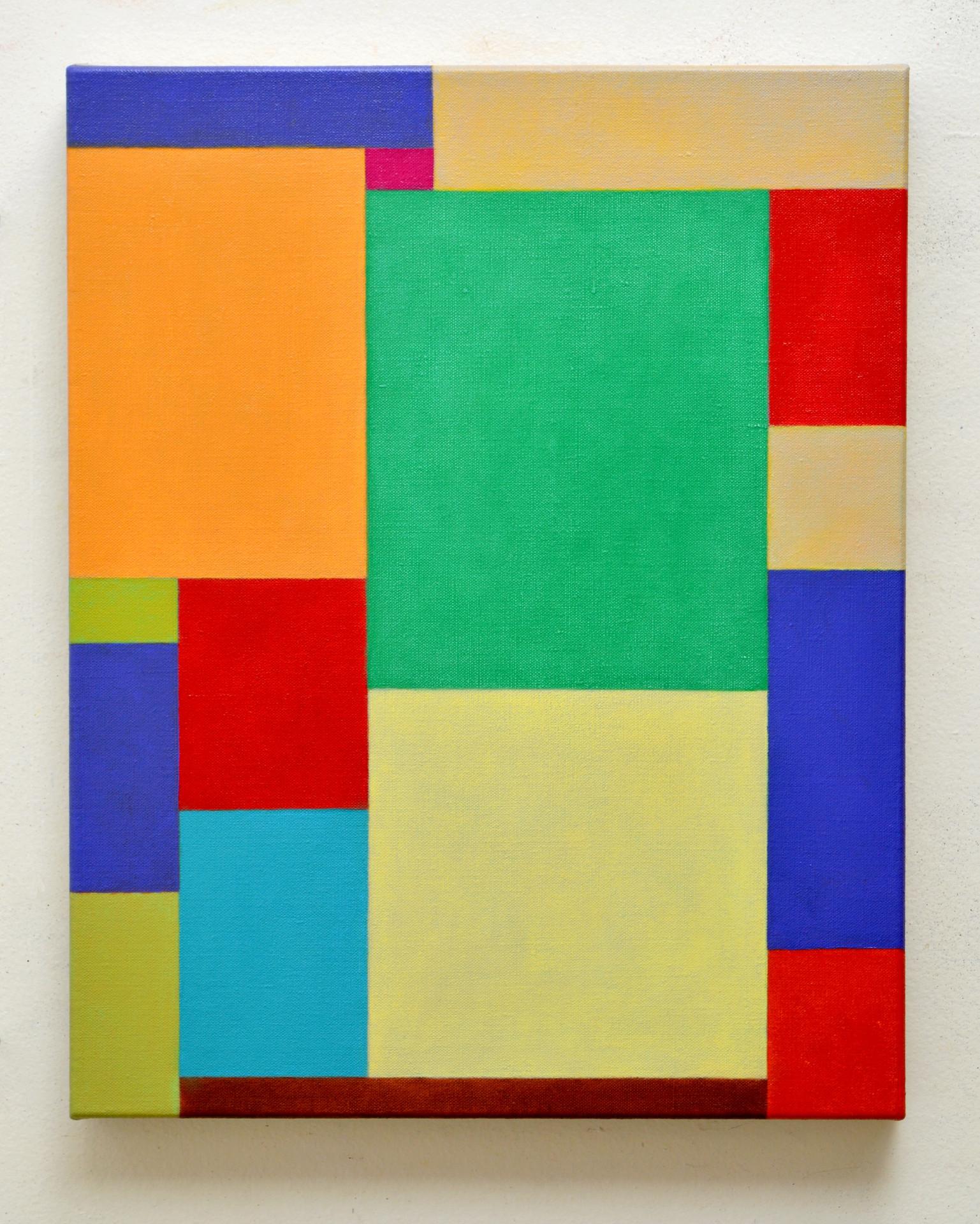 "JOSEPH SIDDIQI ""Dust Sunshine Atmosphere""  oil on linen 20 x 16 in. / 51 x 41 cm"