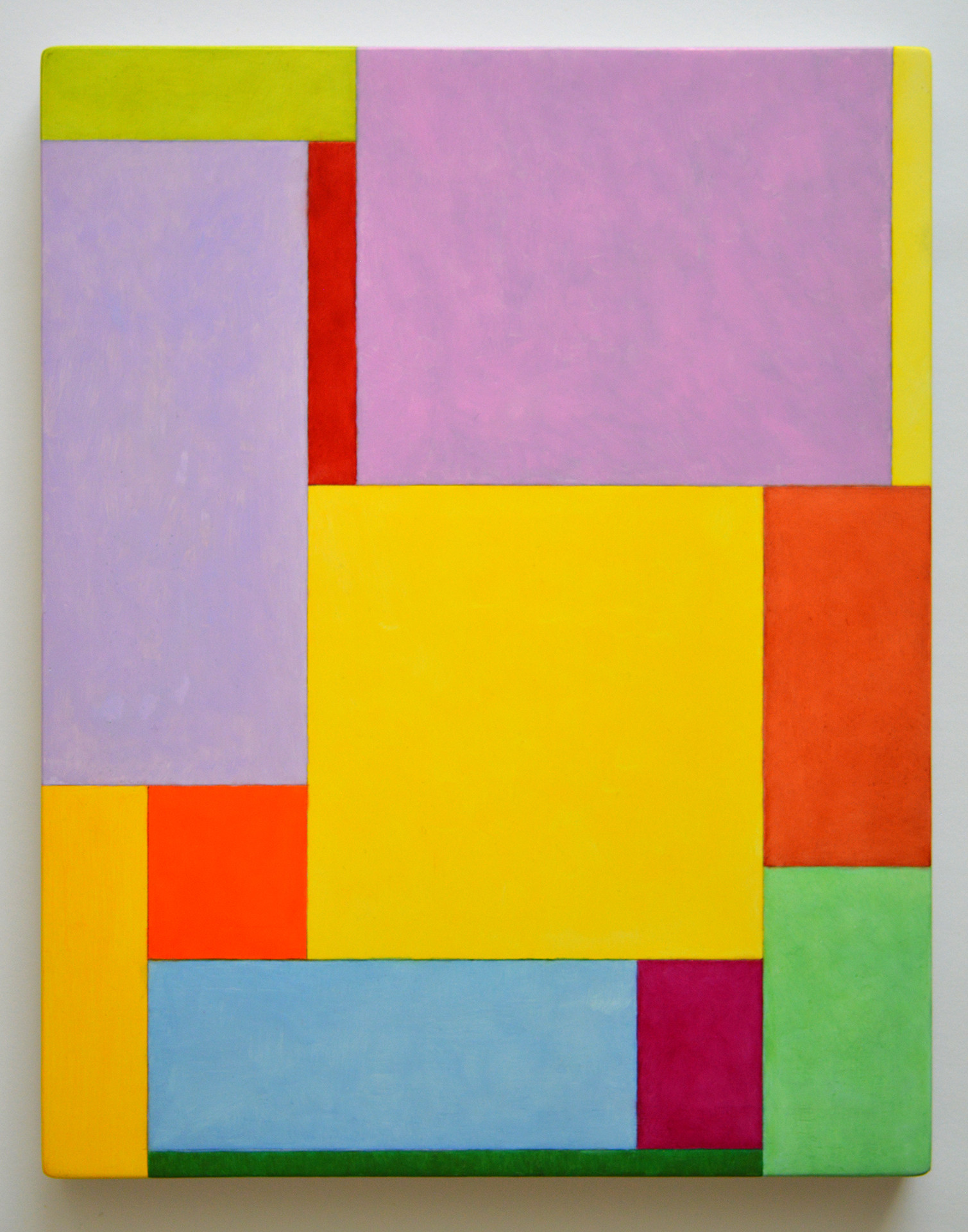 "JOSEPH SIDDIQI ""Aura""  oil and tempera on panel 14 x 11 in. / 36 x 28 cm"