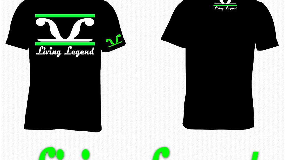 Black Living Legend Lime 2 Stripe
