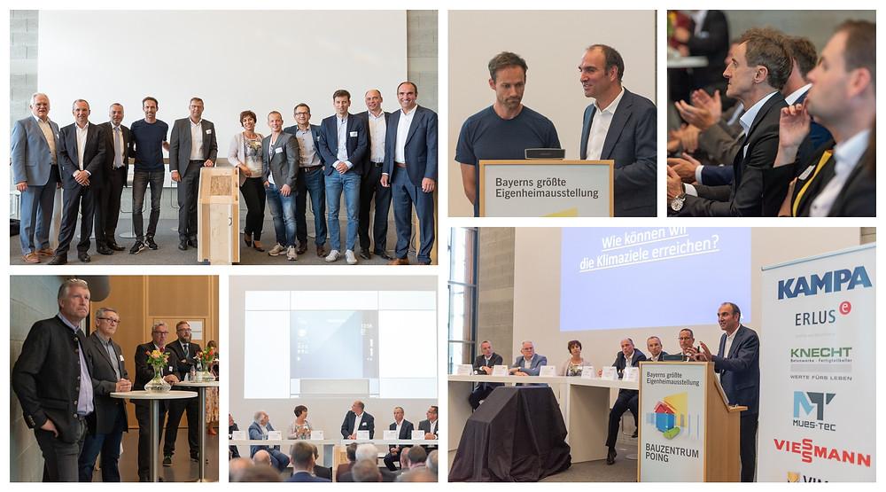 Podiumsdiskussion mit Industrie und KAMPA. Bildnachweis: KAMPA GmbH