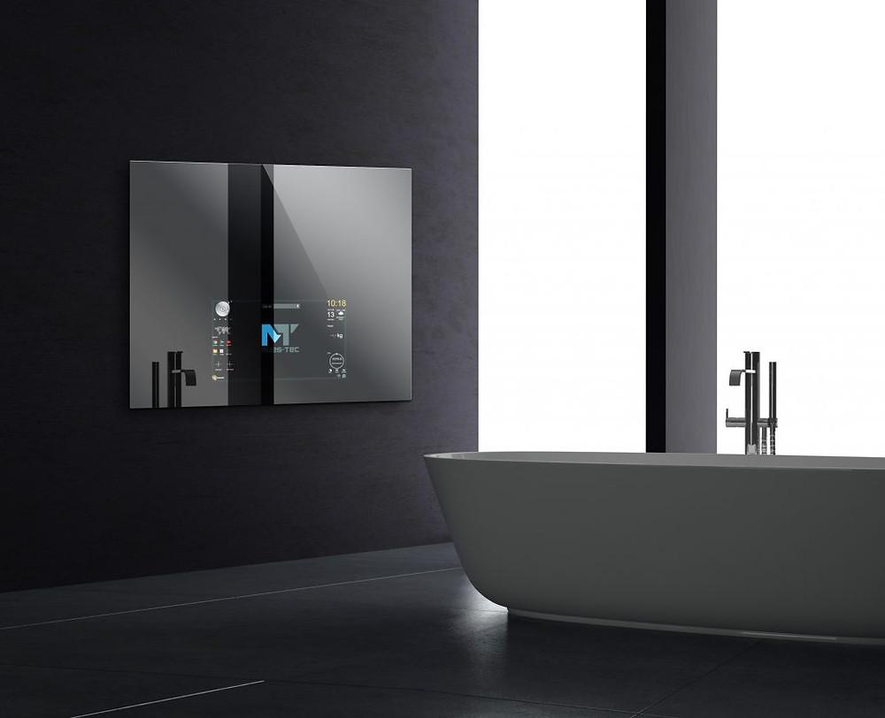 Das Bad der Zukunft - Smarte Spiegel finden Ihren Platz