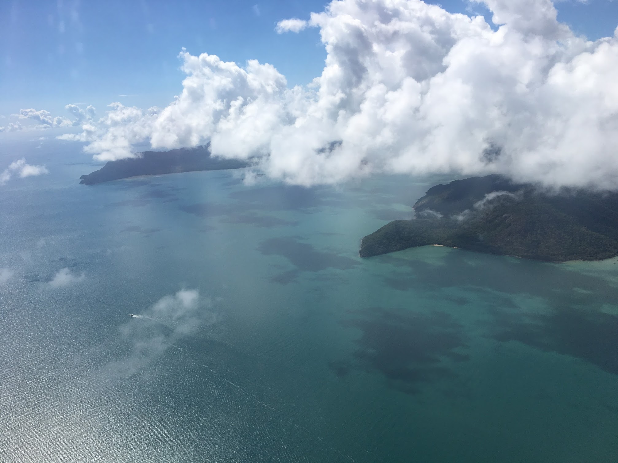 Flying Over Cairns