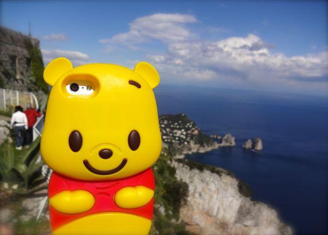 Pooh in Capri