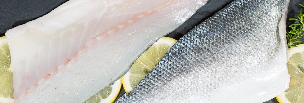 Sea Bass Fillets Farmed - Fresh