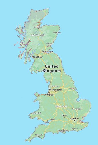 Premier Fish - UK Map National Deliverie