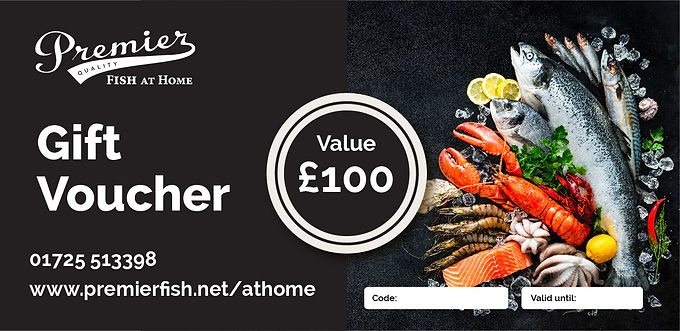 Seafood gift Voucher - £100