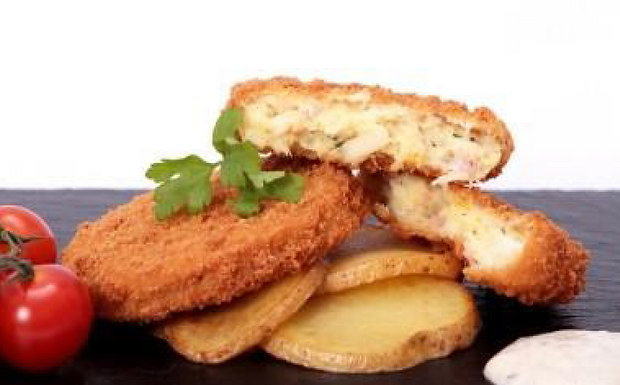 Cod/Bacon/Brie Fish Cakes - Frozen