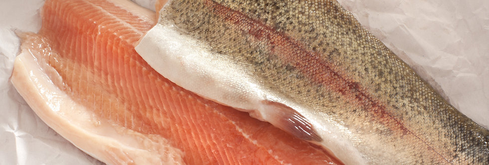 Rainbow Trout Fillet 85/120gm - Fresh
