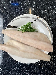 Alaskan Pollock Fillets 170/200gm Skinless/Boneless - Frozen