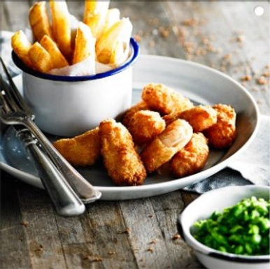 Wholetail Scampi (Whitby) - Frozen