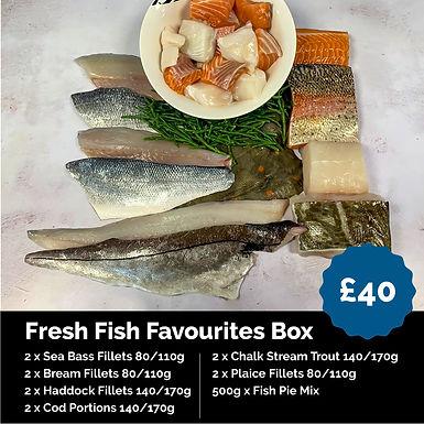Fresh Fish Favourites Box