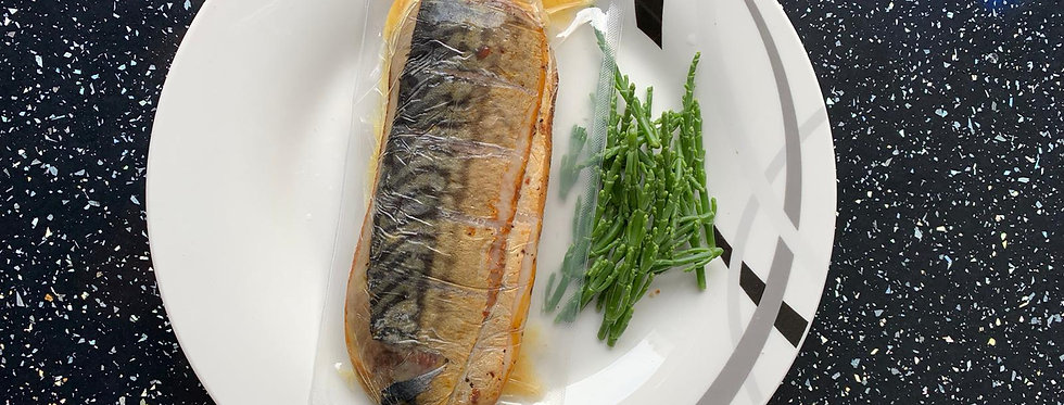 Peppered Hot Smoked Mackerel Fillets - Frozen