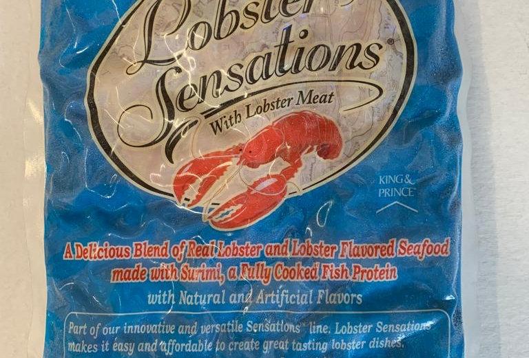 Lobster Sensation Surimi 454gm back