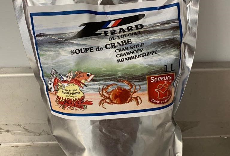 Crab Soup - Chilled