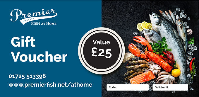 Seafood Gift Voucher - £25