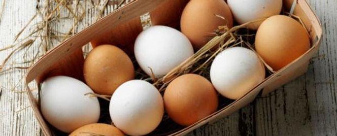 Producción De Huevos Frescos De Gallina